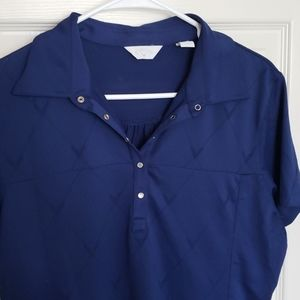 Navy Blue Golf Polo